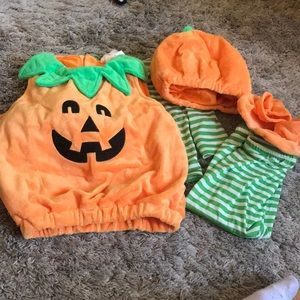 Other - Baby pumpkin Halloween costume